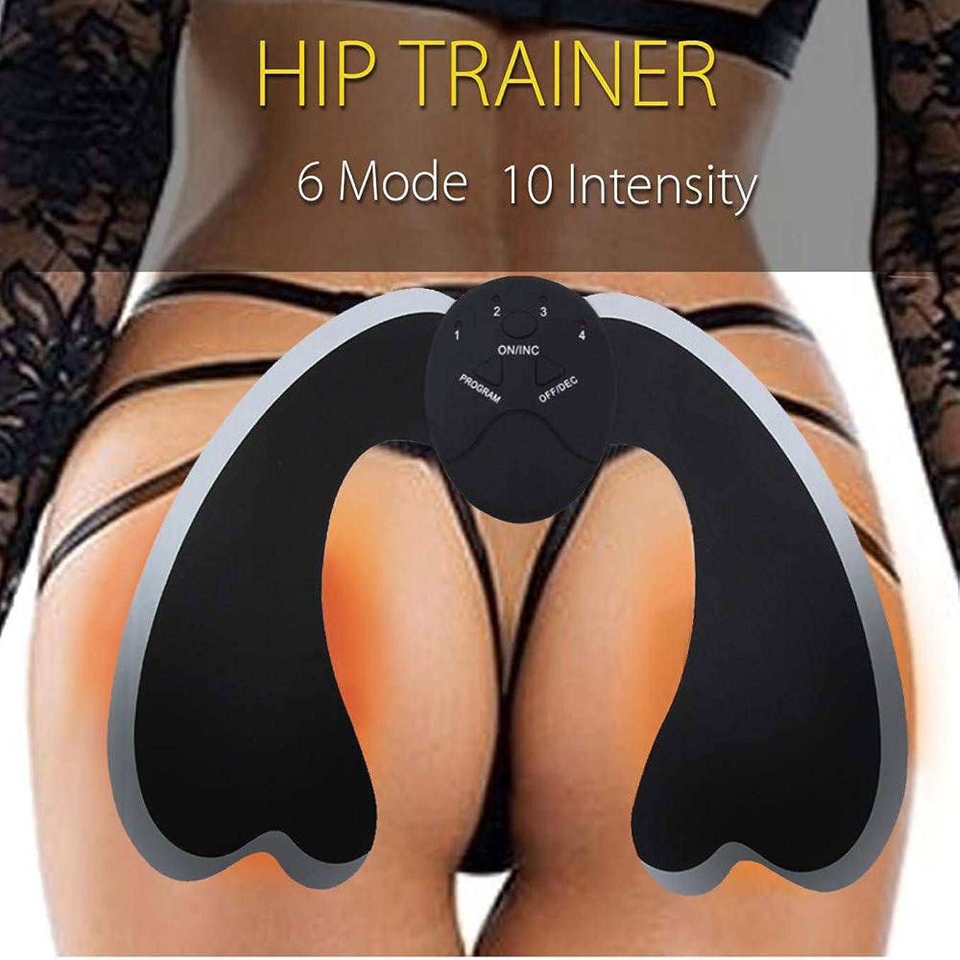 最大言い直す外部14PCS /セットEMSトレーナーヒップリフターエンハンサー筋肉トレーニング腹筋痩身セクシーなキット