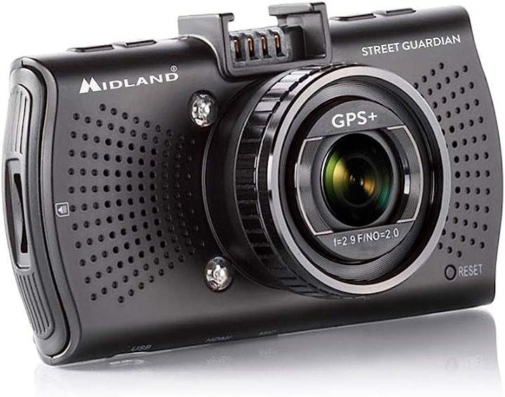 telecamera da auto street guardian Midland c1284.01, nero modland