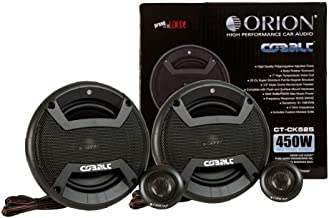 "$36 » Orion Cobalt CT-CK655 6.5"" 2-Way Coaxial Component Speaker 50W RMS 4 OHM 450 Watts Max Power - Set of 2 Speaker"