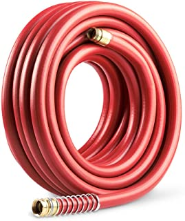 Gilmour Pro Commercial Hose 3/4 Inch x 100 Feet, Red (841001-1001)
