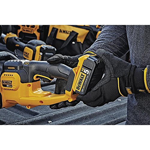 DEWALT DCHT820P1 Cordless Electric Hedge Trimmer