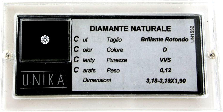 bajo precio UNIKA - Diamante 0.13 0.13 0.13 cts - kl.VS - fa.G -  ventas directas de fábrica