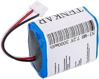 【増強版】 3000mAh ブラーバ 380J 371J バッテリー 4449273 Irobot Braava 380 380T Mint Plus 5200 5200c 5200B 対応 7.2V 対応 交換用 3.0Ah 汎用 7.4V 超大容量 ニッケル水素充電池 …