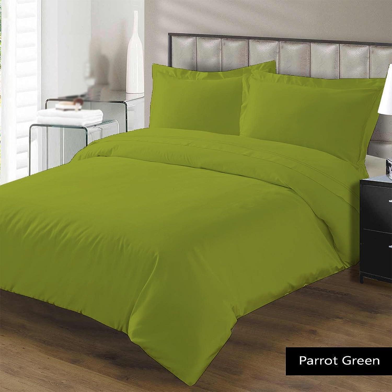Scala Parure égypcravaten 500Fils Doudou 100g m2 Euro King IKEA Perroquet Vert Solide 100% Coton égypcravaten