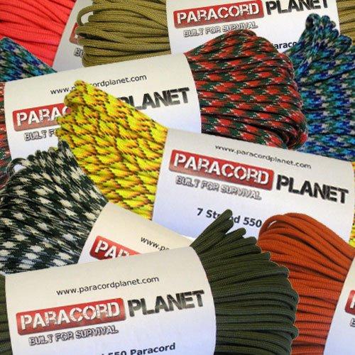 Paracord Planet 550 ألوان متنوعة من Paracord