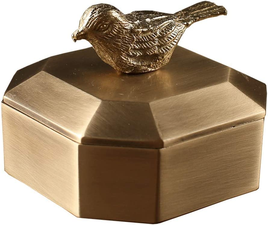 AEBDF Washington Mall MGWPF Home Free shipping anywhere in the nation Desk Decoration- Stylish〠Pure Copper , Bird