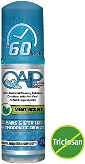OAP Cleaner - Cleans and Sterilizes Removeable Dental and Ortho Appliances - Foam