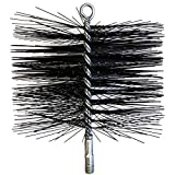 Midwest Hearth Wire Chimney Cleaning Brush (8-Inch Round)