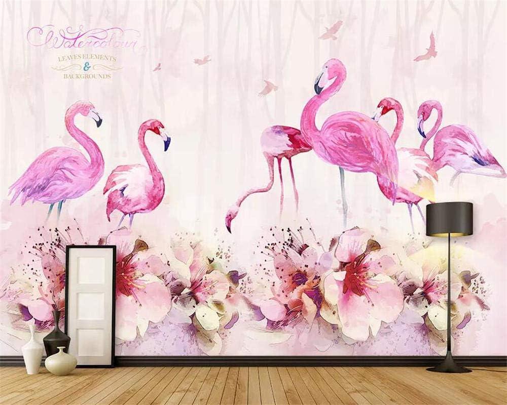 HSJA Customize Wall Colorado Springs Mall Mural Wallpaper Home mart DIY Firebird Flower Pos