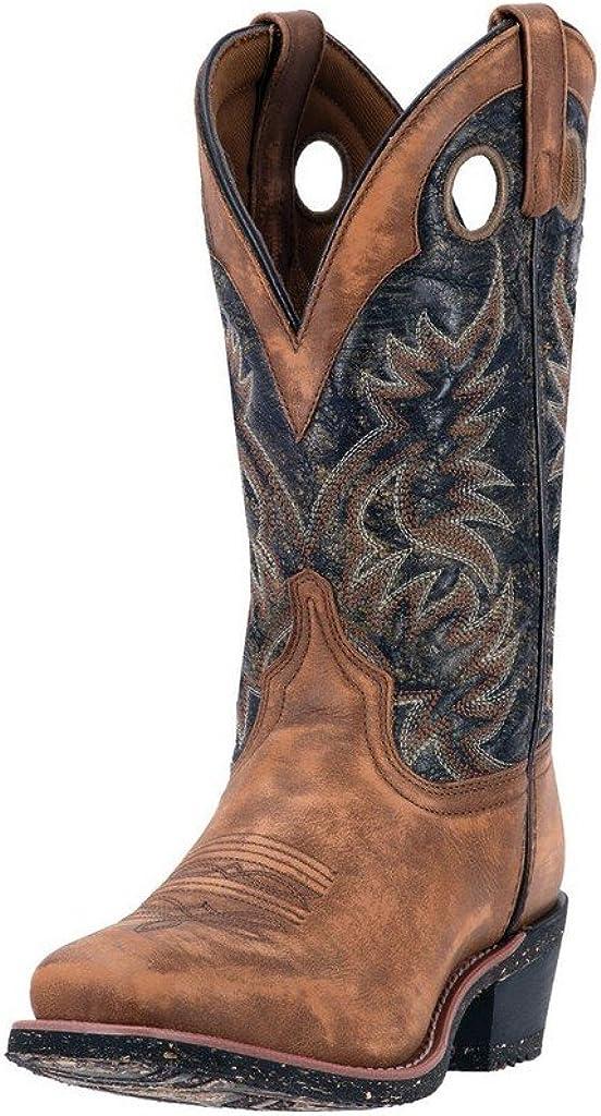 At the Luxury goods price Laredo Mens Stillwater Square Toe Dress Mid Calf Boots B - Beige