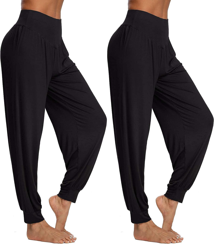 PACBREEZE Women's Harem Yoga Lounge Pilat Dance Pants Loose Limited time Wholesale sale Soft
