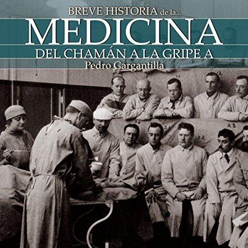 Breve historia de la medicina audiobook cover art