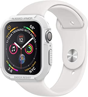 Spigen Rugged Armor Designed for Apple Watch Case for 44mm Series 5 / Series 4 - White
