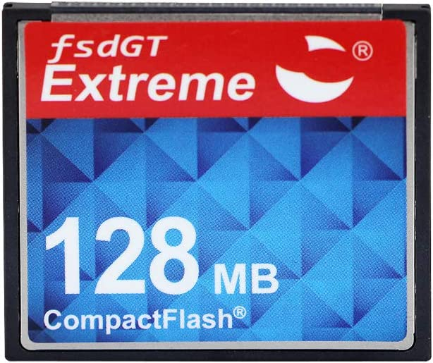 128MB Compact Flash FengShengDa Memory Card Speed Up to 50MB/s, Frustration-Free Packaging ogrinal Camera Card 5(128MB)