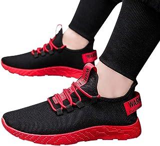 Dasongff Schuhe Herren Laufschuhe Sneaker Outdoor Schnürer Sportschuhe Turnschuhe Männer Joggingschuhe Atmungsaktiv Runnin...