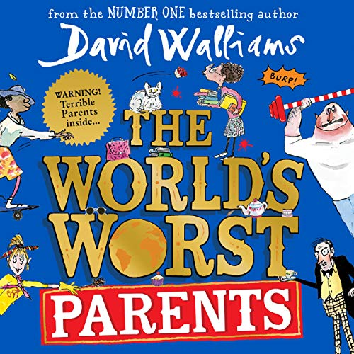 The World's Worst Parents audiobook cover art