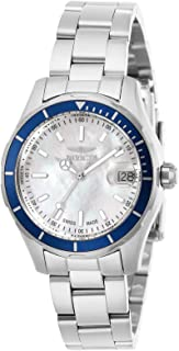 Invicta Women's Pro Diver Quartz Watch with Stainless Steel Strap, Silver, 16 (Model: 28644)
