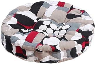 Home/Office Beautiful Round Chair Cushion Floor Cushion Pillow Seat Pad, No.1