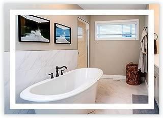 LED Front-Lighted Bathroom Vanity Mirror: 56