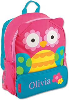 GiftsForYouNow Owl Personalized Kids Backpack