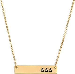 tri delta necklace