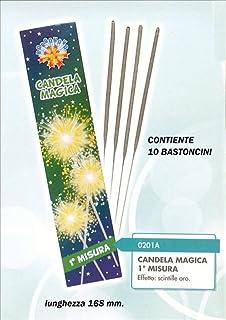 Multicolor Zeus srl 6 Tubi Sparacoriandoli 60 cm per Feste,Matrimoni,Compleanni Colori a Scelta