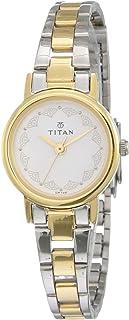 Titan White Dial Analog Watch for Women