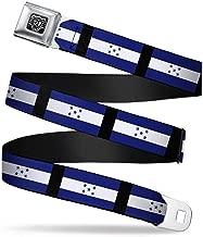 Buckle-Down Seatbelt Belt - Honduras Flags - 1.0