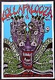 Lollapalooza Festival 1996 - Concert Tour Mini Poster - Metallica - Soundgarden - Ramones