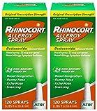 Rhinocort Allergy Spray, 2 Pack (120 Spray)