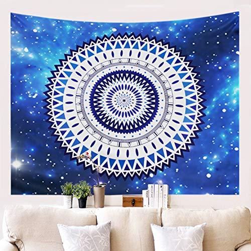 N/A Impresión 3D de tapices Mandala Tapiz para Colgar en la Pared Decoración Hippie Decoraciones para dormitorios universitarios Mandala Toalla de Playa Alfombras de Pared 3D Sábanas Indias Tejidas