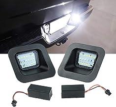Atubeix LED License Plate Light Lamp Replacement Assembly for 2003-2018 Dodge Ram 1500 2500 3500 pickup truck White light 2PCS
