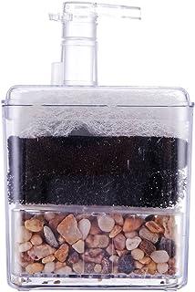 ueetek Corner filtro interno Air Driven filtro bio Esponja cerámica para Fry Shrimp Nano Acuario Acuario