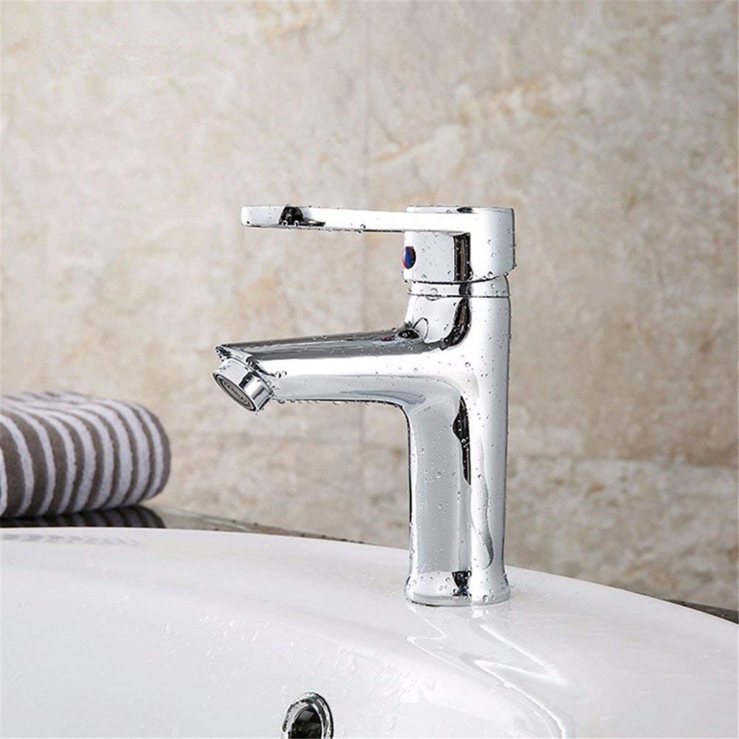 Oudan Basin Mixer Tap Bathroom Sink Faucet All copper pearl single hole basin faucet lead free bathroom wash basins and cold water faucet