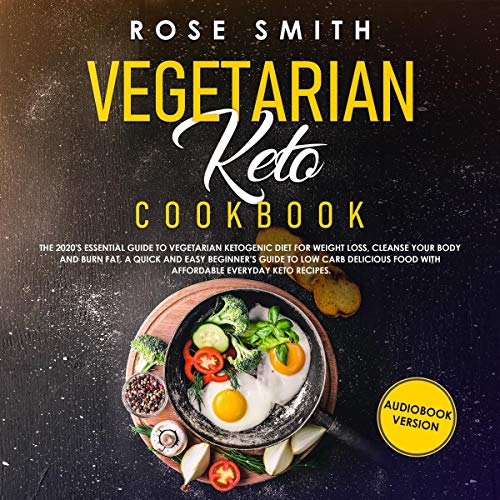 Vegetarian Keto Cookbook  By  cover art