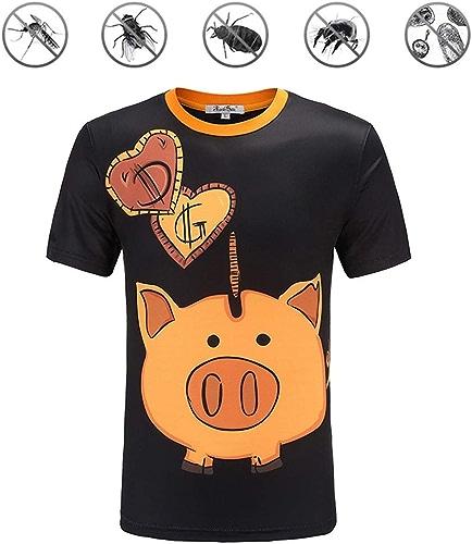 FUTN T-Shirts Manches Courtes pour Hommes, Polos de Sport de Plein air de Loisirs à séchage Rapide Polos Chemises Garçon