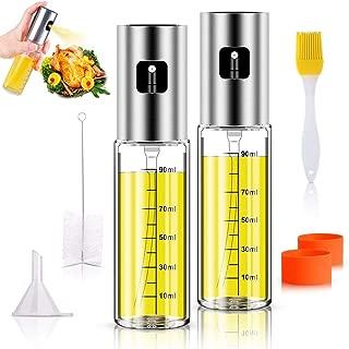 Anmyox - Juego de pulverizador de aceite de oliva,