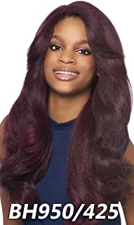 Outre Synthetic Hair Lace Front Wig Batik Dominican Blow Out Relaxed Bundle Hair (S1B/BU)