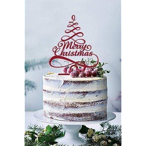 Christmas Cake Decoration Amazon Com