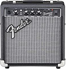 "10 Watts 1-6"" Fender Special Design Speaker One Channel Controls: Gain, Over-Drive Select Switch, Volume, Treble, Bass Other Features: 1/4"" Instrument Input, 2-Band EQ, 1/8"" Auxiliary Input Jack for Jam-Along with Media Player or CD, 1/8"" Headphone O..."