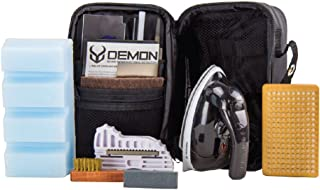 DEMON UNITED Snow Ready Ski Tuning Kit & Snowboard Tuning Kit with Iron- Includes 1.06 LBS of Wax - Good for Over 20 Ski or Snowboard Tune Ups