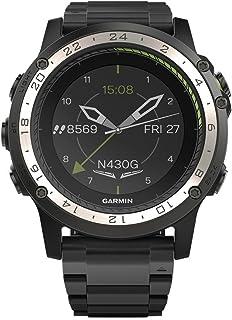 Garmin - Garmin D2 Charlie - Reloj digital con bisel y correa de titanio, negro