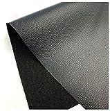 Simili Cuir Ameublement Largeur Fixe 140cm Cuir SièGes D'Auto Chaises Tissu Pu Simili Cuir Rouleau De Nombreuses Couleurs Sont Disponibles Ceintures Semelles IntéRieures (Size:138x3m,Color:Black)