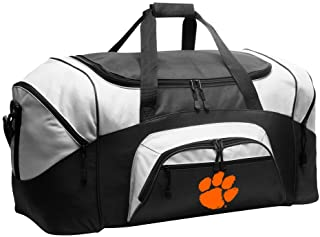 a302dce7b8 Large Clemson Tigers Duffel Bag Clemson University Suitcase or Gym Bag for  Men Or Her
