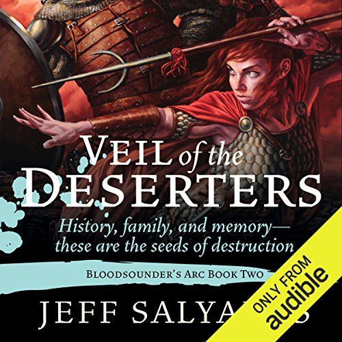 Veil of the Deserters audiobook cover art