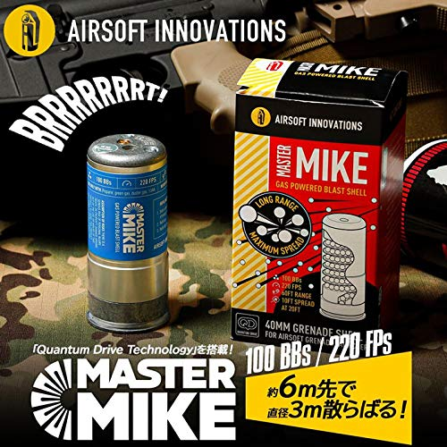 [LayLax][ MASTER MIKE ガスパワー ブラストシェル 日本語説明書付 ][AIRSOFT INNOVATIONS]