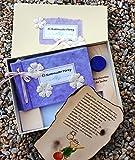 Libro del Ratoncito Pérez Lila hecho a mano y personalizado con el nombre de la niña