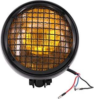 cafe racer headlight grill