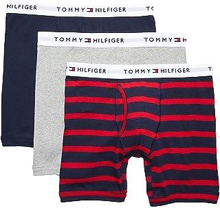TOMMY HILFIGER Calzoncillos Calzones de algodón, Paquete de 3, para Hombre