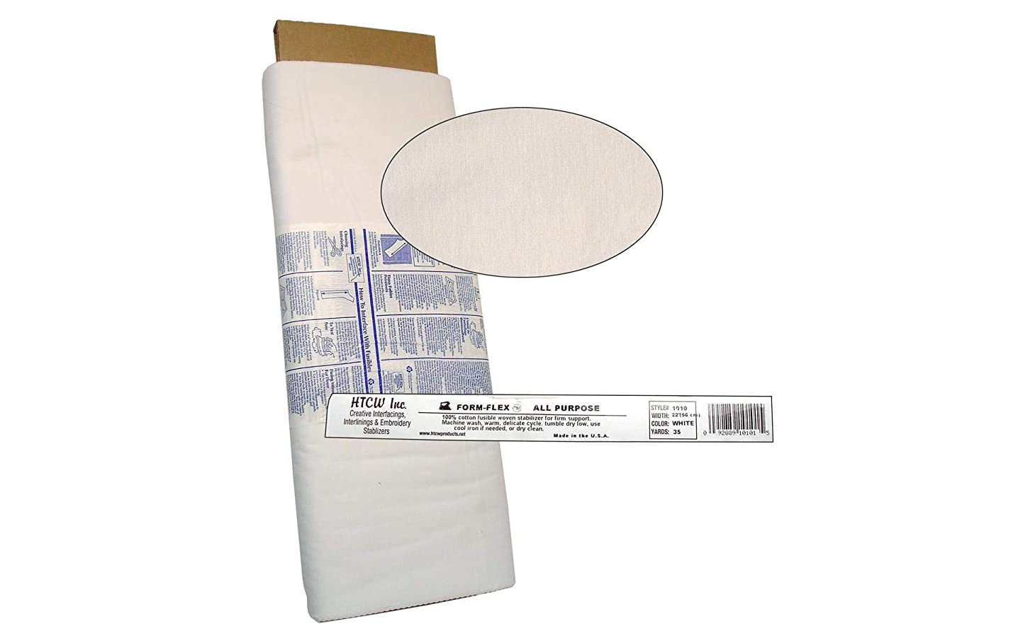 Handler Textile Corp. 1010-1 White interfacing